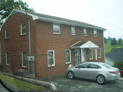 Christiansburg Multi Family Home For Sale: 575 Quesenberry St