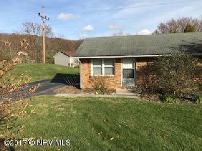 Christiansburg Rental For Rent: 610 A Reading Road