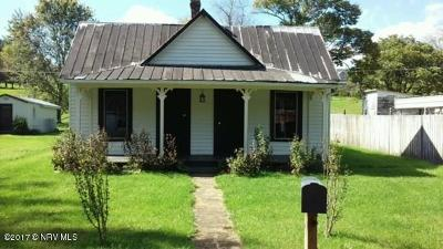 Wythe County Single Family Home For Sale: 315 Francis Mill Road