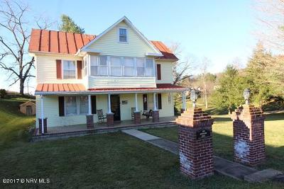 Pulaski County Single Family Home For Sale: 547 Farris Mines Road