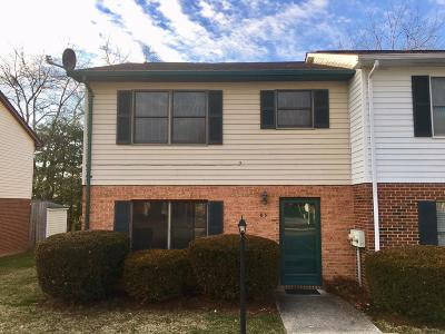 Christiansburg Condo/Townhouse For Sale: 85 Franklin Parke Court