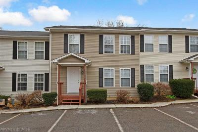 Christiansburg Condo/Townhouse For Sale: 1075 Forest Street
