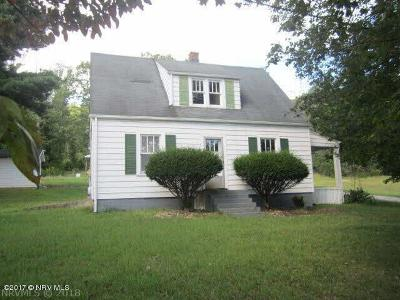 Radford Single Family Home For Sale: 3118 Peppers Ferry Road