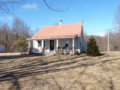 Floyd County Single Family Home For Sale: 504 Happy Valley Road