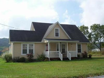 Peterstown WV Single Family Home For Sale: $99,500