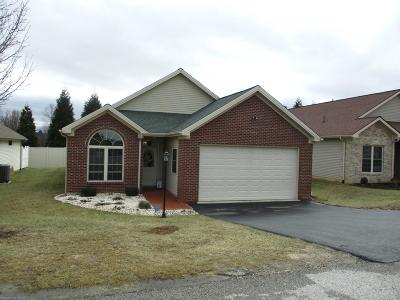 Christiansburg Single Family Home For Sale: 175 Melody Drive