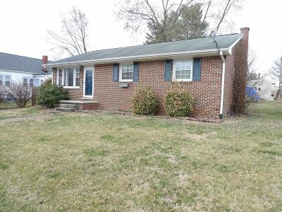 Radford Single Family Home For Sale: 1013 6th Street