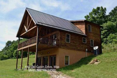 Wythe County Single Family Home For Sale: 440 Old Cabin Drive