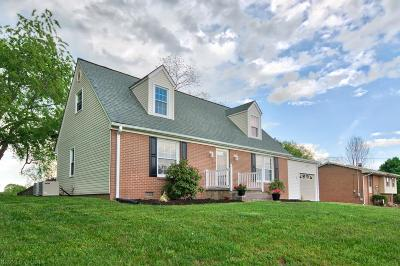Christiansburg Single Family Home For Sale: 285 Mulberry Drive