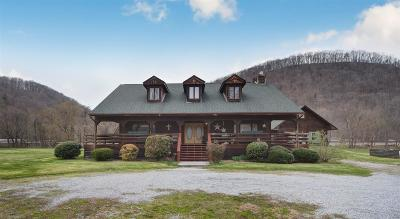 Montgomery County Single Family Home For Sale: 9000 Roanoke Road