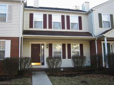Christiansburg Condo/Townhouse For Sale: 300 Bronze Leaf Drive