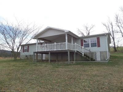 Giles County Single Family Home For Sale: 157 Sands Road