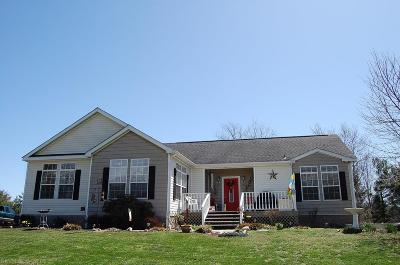 Riner Single Family Home For Sale: 278 Dusty Rock Road