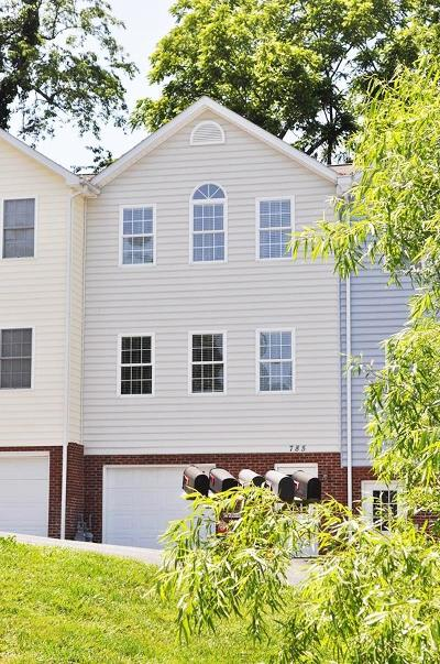 Christiansburg Condo/Townhouse For Sale: 785 Collins Street