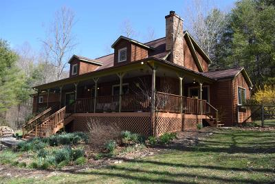 Floyd County Single Family Home For Sale: 3338 Burks Fork Road