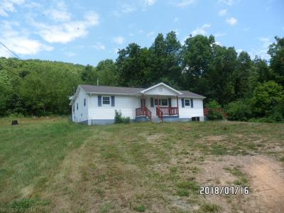 Peterstown WV Single Family Home For Sale: $79,500