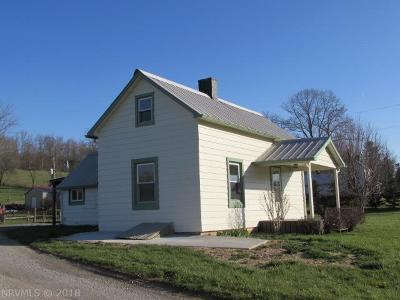 Rural Retreat VA Single Family Home For Sale: $89,900