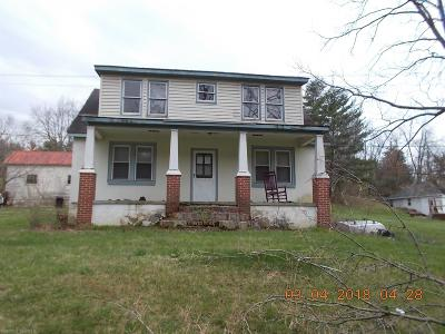 Christiansburg Single Family Home For Sale: 1517 Fire Tower Road