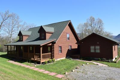 Giles County Single Family Home For Sale: 210 Huckleberry Lane
