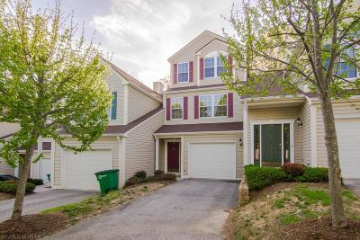 Christiansburg Condo/Townhouse For Sale: 230 Huff Heritage Lane