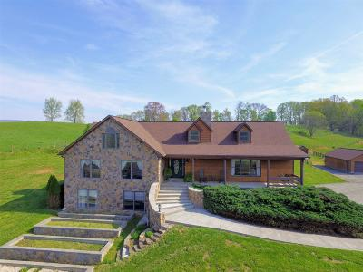 Giles County Single Family Home For Sale: 117 Hunters Run Road