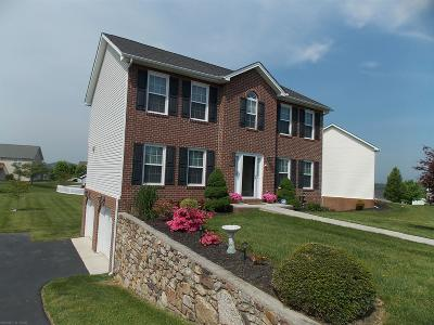 Christiansburg Single Family Home For Sale: 230 Berkshire Drive