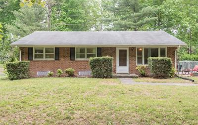 Christiansburg Single Family Home For Sale: 4285 Wayside Drive