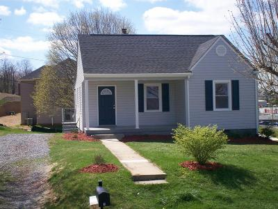 Christiansburg Single Family Home For Sale: 7 Lee Hy Court