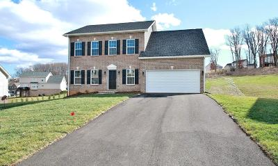 Blacksburg Single Family Home For Sale: 116 Oak Meadow Lane
