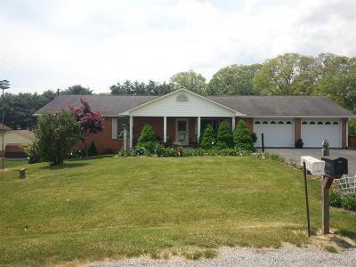 Christiansburg Single Family Home For Sale: 2321 Gate Road