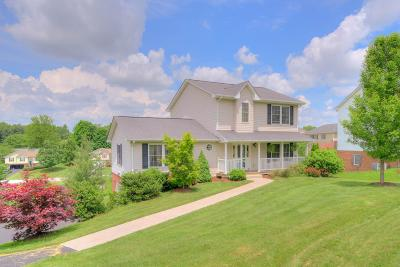 Christiansburg Single Family Home For Sale: 110 Kays Drive