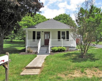 Christiansburg Single Family Home For Sale: 940 Forest Street