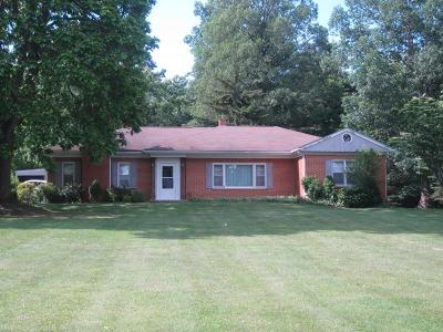 Wythe County Single Family Home For Sale: 4980 E Lee Highway
