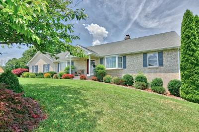 Christiansburg Single Family Home For Sale: 2100 Wetherburn Road
