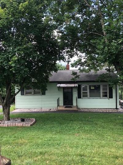 Christiansburg Single Family Home For Sale: 3709 Mud Pike