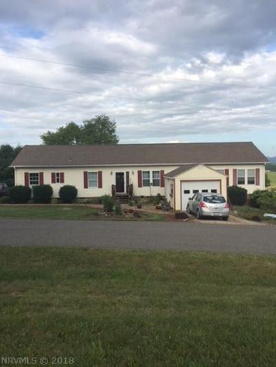 Wythe County Single Family Home For Sale: 158 McGavock Lane Avenue