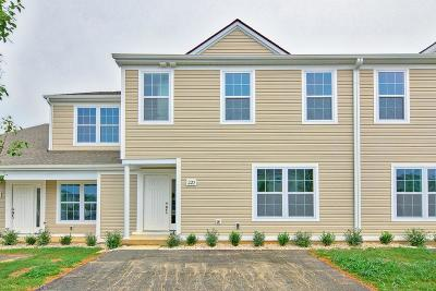 Christiansburg Condo/Townhouse For Sale: 220 Amber Circle