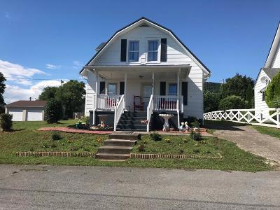 Giles County Single Family Home For Sale: 208 Riverside Avenue