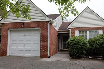 Christiansburg Condo/Townhouse For Sale: 235 Gold Leaf Drive
