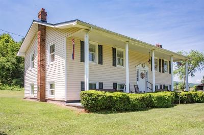 Wythe County Single Family Home For Sale: 2047 Cline Road