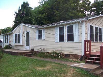 Christiansburg Single Family Home For Sale: 1695 Blair Street