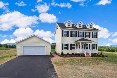 Radford Single Family Home For Sale: 4550 Old Stage Road