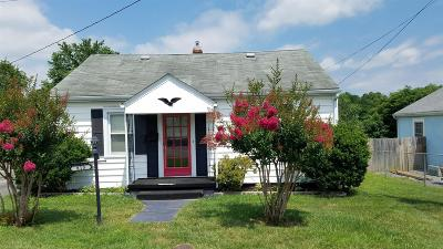 Radford Single Family Home For Sale: 813 9th Street