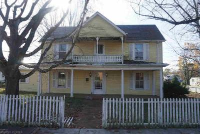 Christiansburg VA Single Family Home For Sale: $79,950