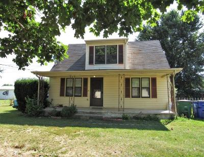 Christiansburg Single Family Home For Sale: 160 Simmons Road