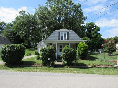 Christiansburg VA Single Family Home For Sale: $145,000