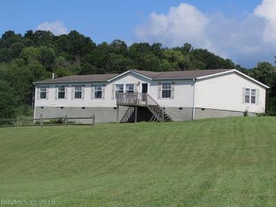 Pulaski County Single Family Home For Sale: 6110 E Lee Highway