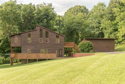 Newport Single Family Home For Sale: 190 Winding Way Drive