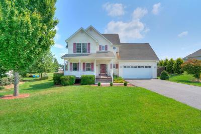 Christiansburg Single Family Home For Sale: 25 Alexander Court
