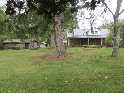 Wythe County Single Family Home For Sale: 3416 Cedar Springs Road
